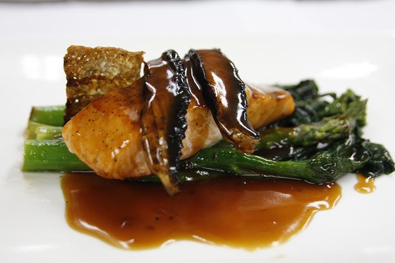 Pavé de saumon Tériyaki (2)